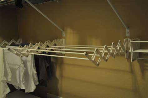Wall Mount Accordion Drying Rack by Polder Wall Mount 24 Inch Accordion Clothes