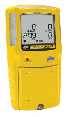 Simple Flow Bw bw gasalertmax xt ii multi gas detector with motorized