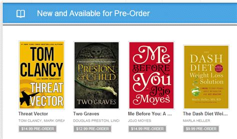 google play store books you can now pre order books in the google play store