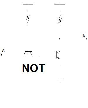 transistor not gate inverter file puertas not con transistores jpg