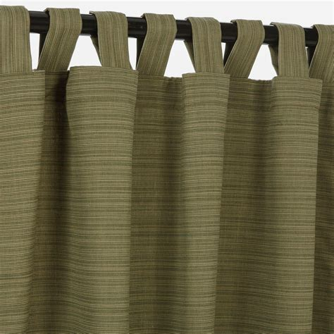 outdoor drapes sunbrella dupione laurel sunbrella outdoor curtain with tabs