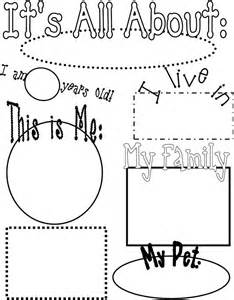 about me poster template 89 best all about me theme images on preschool