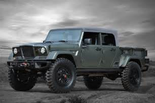 Where To Jeep Jeep Crew Chief 715 Concept Uncrate