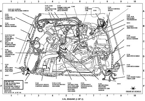 mustang parts diagram 3 8l mustang engine diagram autos post
