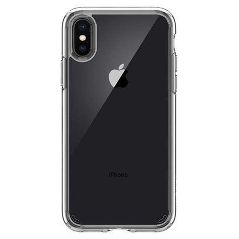 Spigen Iphone X Original Shell Casing Cover Clear Cryst iphone x ultra hybrid spigen inc