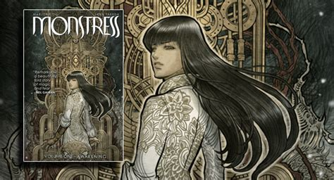 libro monstress volume 1 awakening monstress volume 1 awakening graphic novel banner