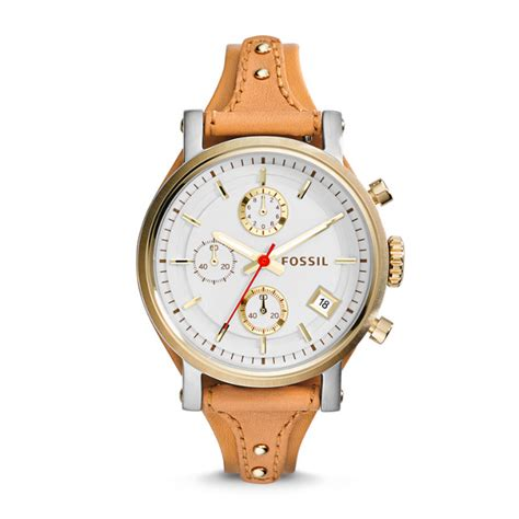 Fossil Boyfriend original boyfriend chronograph leather fossil