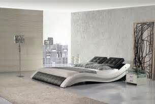 leather bed italian leather hx a021 bw contemporary