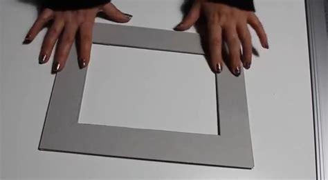 cornice cartoncino cornice in cartone fai da te guida passo passo con foto