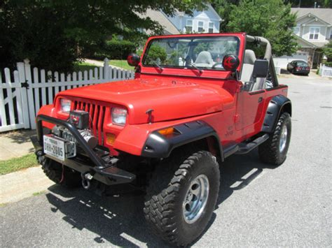 1989 jeep wrangler yj fully restored excellent