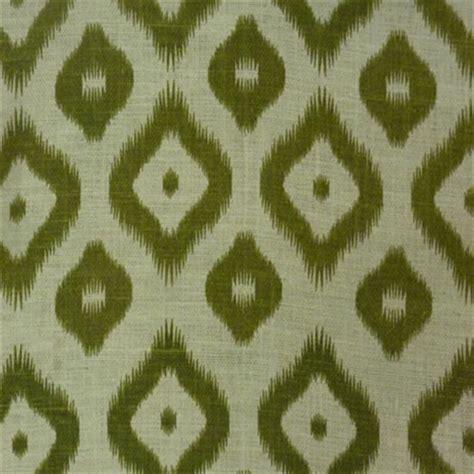 burlap drapery fabric blv 058 lg diamond dot ikat design sage green natural