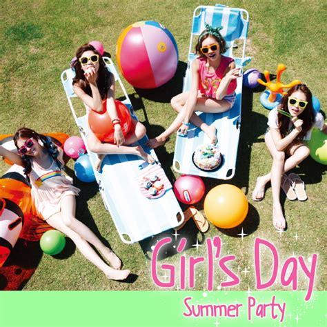 s day album support girl s day s summer party everyday 4 mini