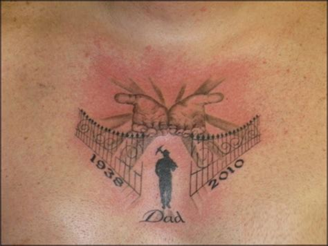 tattoo designs dad memorial in memory of tattoos for search