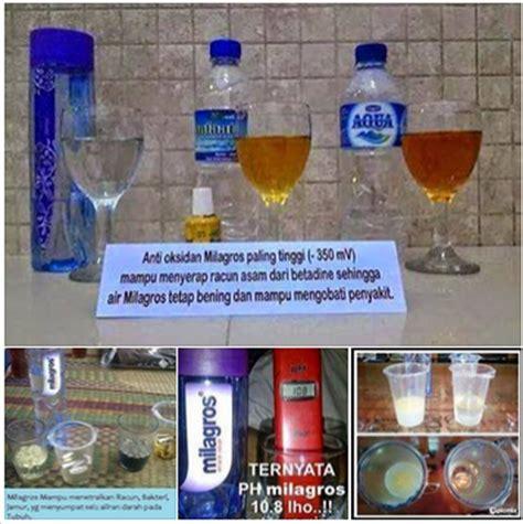 Milagros Air Kesehatan Untuk Terapi Penyembuhan Penyakit agen air milagros dan harga januari 2015