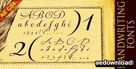 handwriting template after effects handwriting fonts after effects project videohive