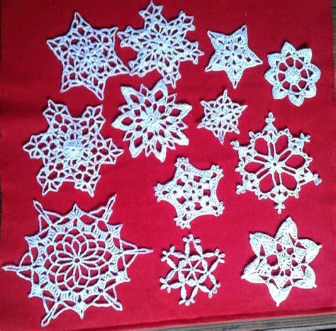 free crochet snowflake patterns free crochet patterns