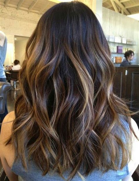 partial highlights for brunettes 25 best ideas about partial balayage on pinterest