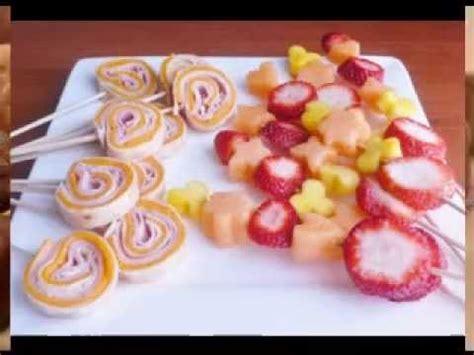easy kids birthday party food ideas youtube