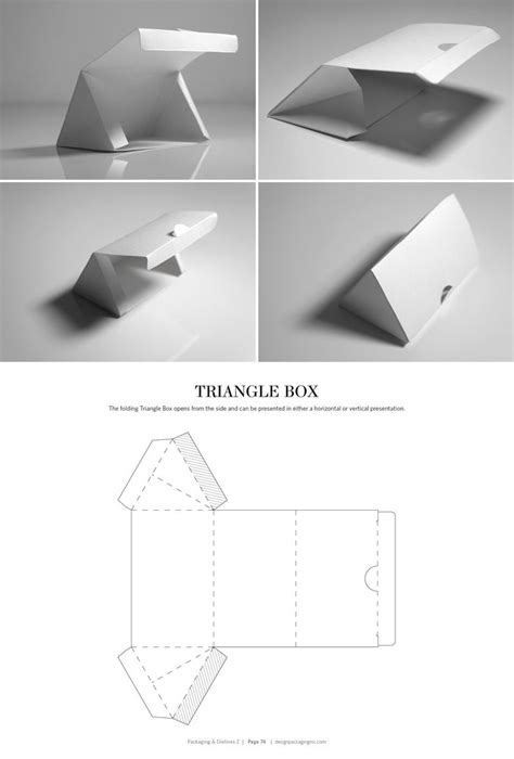 triangle packaging template 78 best packaging dielines images on boxes