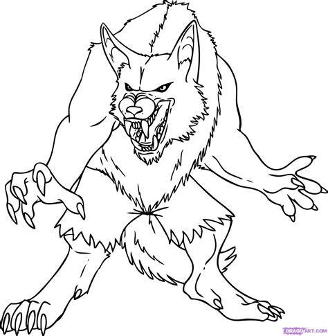 Goosebumps Werewolf Coloring Pages Coloring Pages Goosebumps Coloring Pages