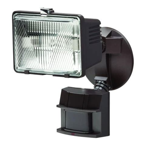 Defiant Lighting by Defiant 180 Degree Outdoor Bronze Motion Security Light