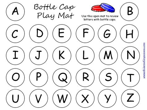 printable alphabet mat alphabet review pack updated expanded