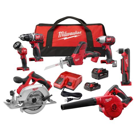 27 in w 7 tool m18 18 volt lithium ion cordless combo kit 7 tool w 2