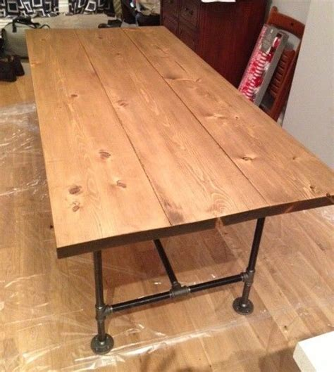 diy industrial style dining table best 25 pipe table ideas on industrial