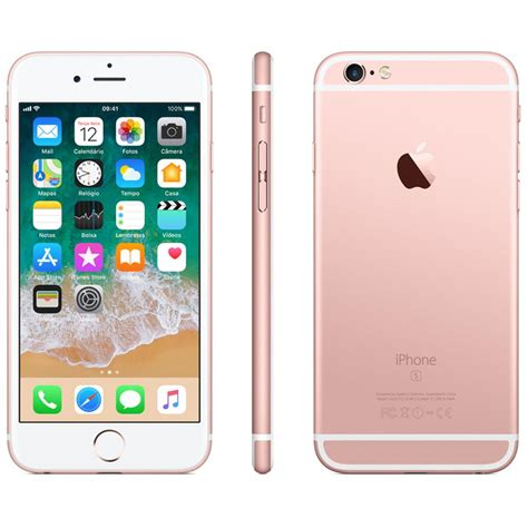 iphone 6s plus apple 32gb tela 5 5 hd 3d touch ios 11 sensor touch id c 226 mera isight