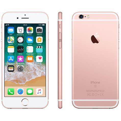 e iphone 6s plus iphone 6s plus apple 32gb tela 5 5 hd 3d touch ios 11 sensor touch id c 226 mera isight