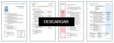 Plantilla De Curriculum Tematico 100 Modelos Y Plantillas De Curr 237 Culum Vitae Para Descargar Gratis En Word Cursosmasters