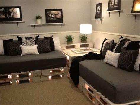 sofa aus paletten sofa aus paletten eine perfekte vollendung des