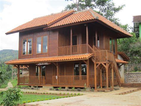 membuat rumah tingkat dari kayu desain rumah tingkat sederhana yang elegan warnacat net