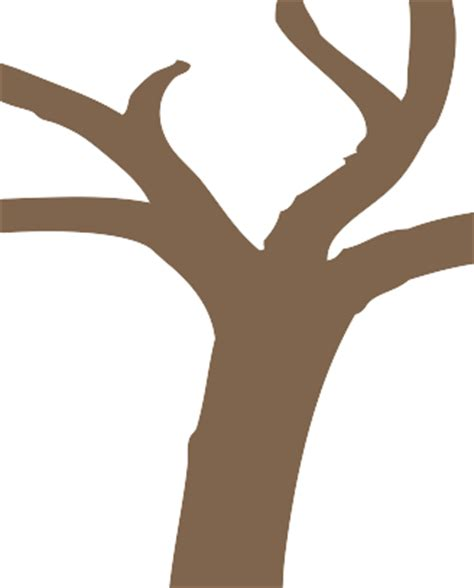 Tree Stump Outline by Tree Trunk Outline Cliparts Co