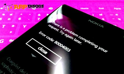 error code 805a8011 รวมรห สข อผ ดพลาด error code ของ windows phone รวมท ง