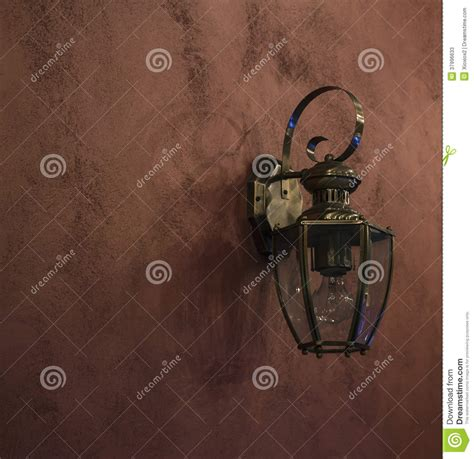 Old Fashioned Wall Lantern Stock Photos Image 37996633