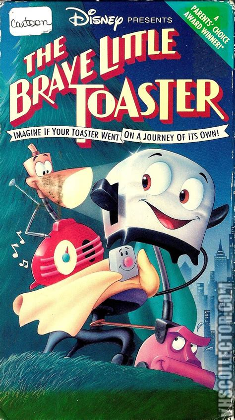 Opening To The Brave Little Toaster 1991 Vhs The Brave Little Toaster Vhscollector Com Your Analog