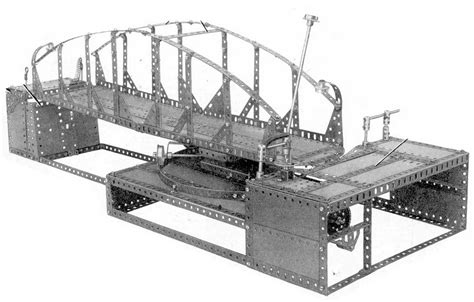 swing bridge model analysis of meccano manuals manual models listings
