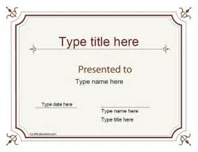 Superlative Certificate Template by Blank Certificate Excellence Award Certificate