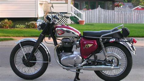 pin 1966 bsa a65 hornet classic motorcycle pictures on