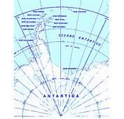 Mapa Sector Antrtico Argentino
