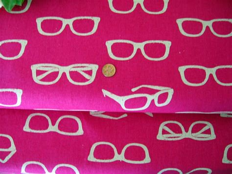 echino ni co eye glasses fabric from japan by
