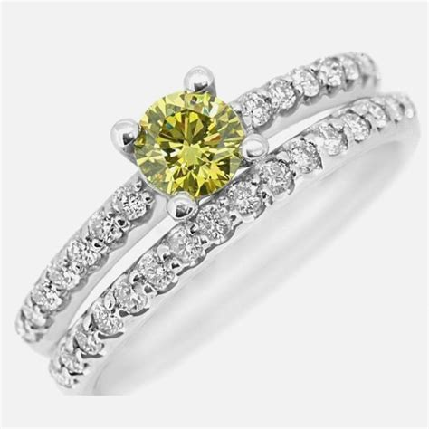 yellow engagement rings zales wedding and bridal