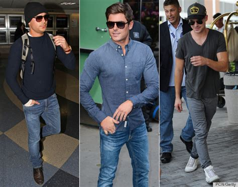 Zac Efron Wardrobe by These Stylish Guys Were The Best Thing To Happen To 2013 Huffpost