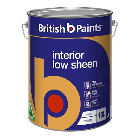 Interior Paint Sheen by Paints 10l White Low Sheen Interior Paint I N