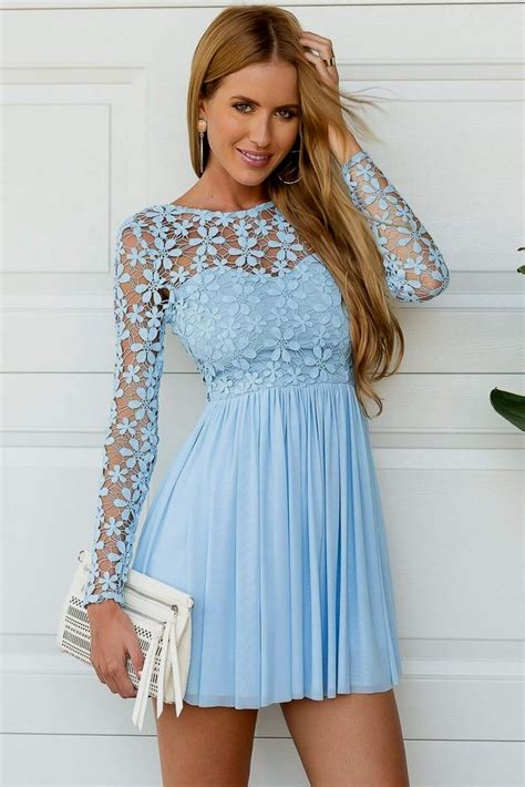 light blue sleeve dress light blue dress with sleeves naf dresses