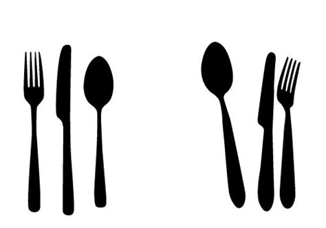 kitchen forks and knives free spoon knife and fork vectors for your kitchen designs
