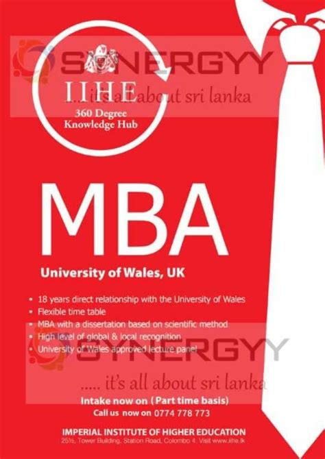 Of Wales Mba In Sri Lanka by Of Wales Mba In Sri Lanka Education Synergyy