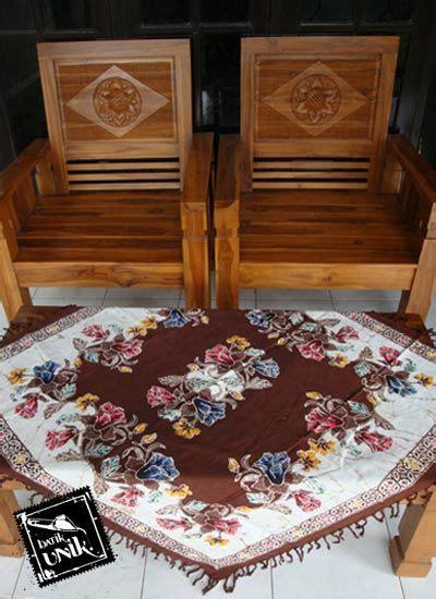 taplak meja tamu batik cap semi tulis taplak meja batik murah batikunik