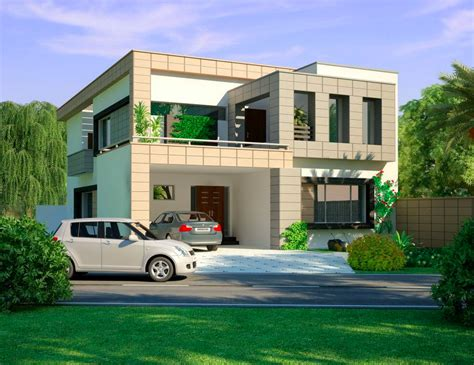 3d front elevation com modern house plans house designs modern house design from lahore pakistan home design